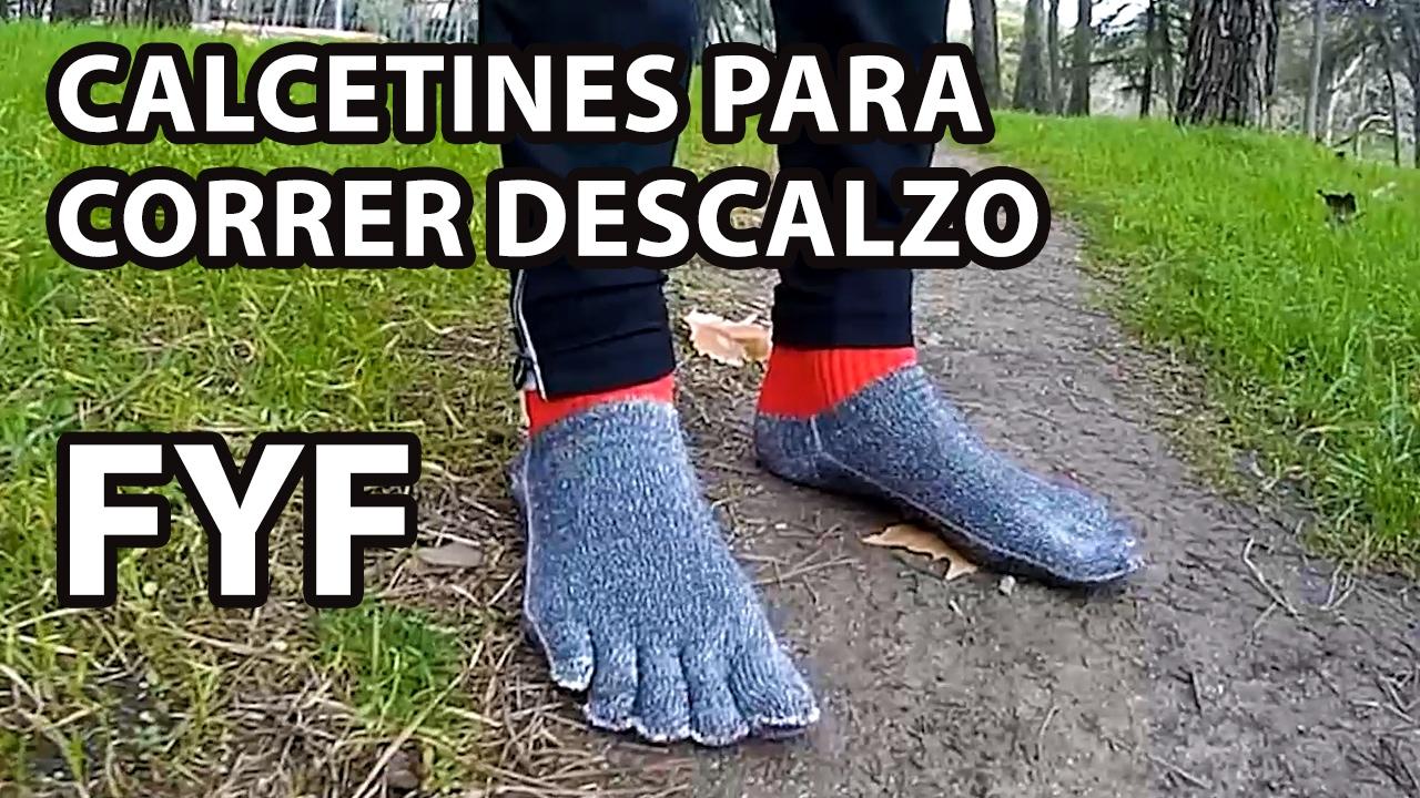 4e64cc516 Correr descalzo con calcetines FYF - Free Your Feet