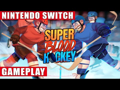 Super Blood Hockey Nintendo Switch Gameplay Youtube