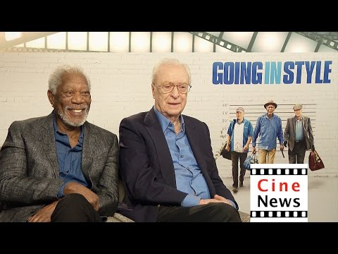 """Going in Style"" – Interview: Morgan Freeman & Michael Caine"