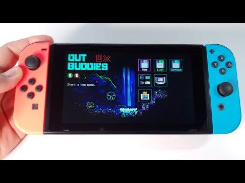 Outbuddies DX  | Nintendo Switch handheld gameplay |