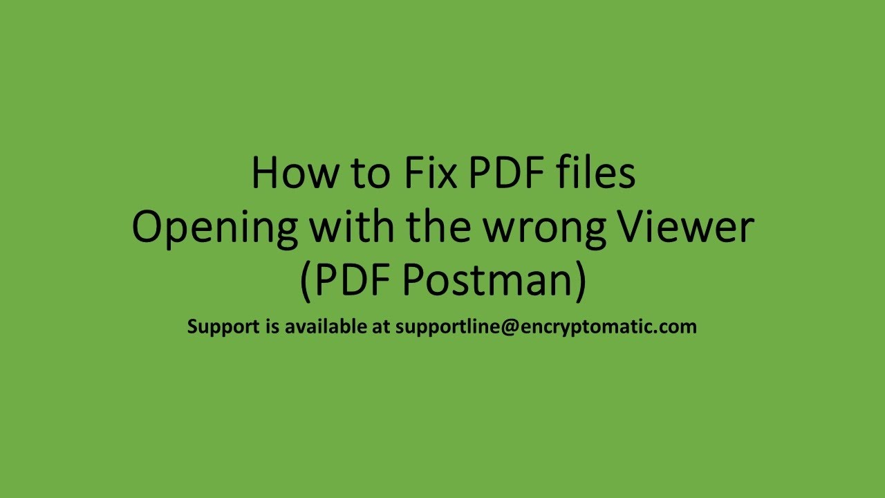 Opening Encrypted PDF with Adobe Reader
