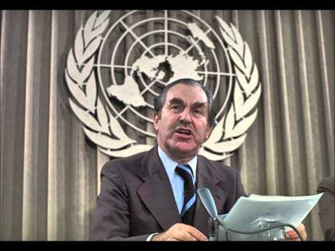Chaim Herzog's Speech in Opposition to U.N. Resolution Equating Zionism With Racism