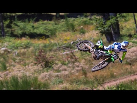 Ivan Tedesco and the Two-Stroke Time Machine | TW Motocross video