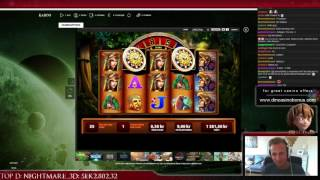 Montezuma - BIG WIN - 108 spins 10x - WMS slot