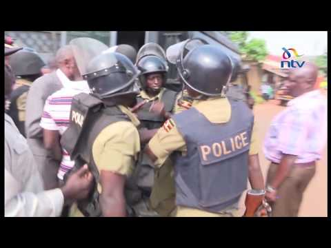 Ugandan police re-arrested 3 opposition MPs for skipping bail