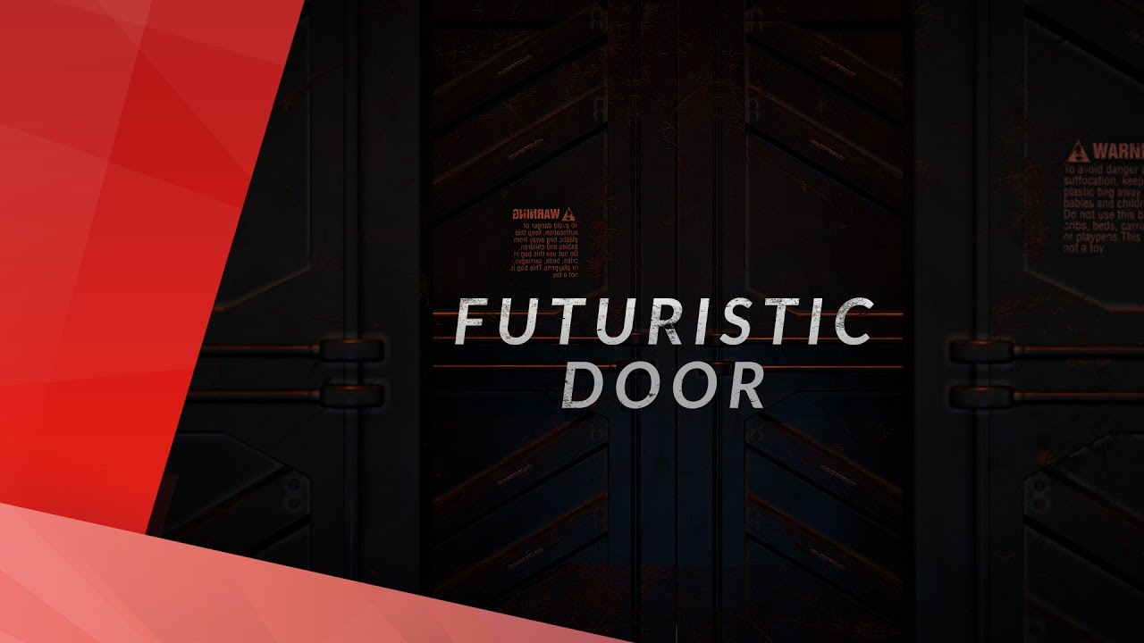 & FUTURISTIC DOOR INTRO TEMPLATE (SCI-FI) - YouTube
