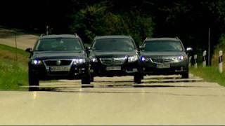 Der Mittelklasse-Kombi-Vergleich Motorvision vergleicht VW P