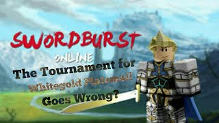 The Tournament for Whitegold Platemail! Goes Wrong?| Jed Ivan [Roblox]