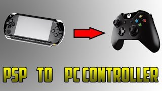 How To Turn Your PSP Into A PC CONTROLLER !!