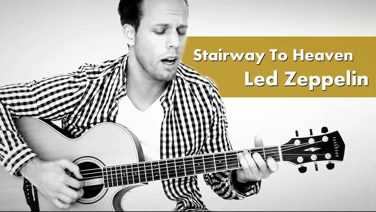led zeppelin stairway to heaven acoustic cover by junik youtube. Black Bedroom Furniture Sets. Home Design Ideas