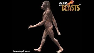 "TRILOGY OF LIFE - Walking with Beasts - ""Australopithecus afarensis"""