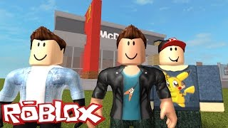 BUILDING the MC DONALD-ROBLOX Mc Donald Tycoon
