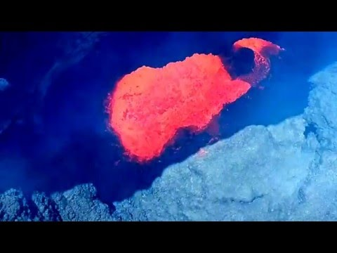 Trail by Fire: aerial footage of Villarrica lava lake