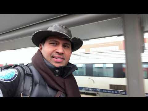 Belgian ICE Train Brussels Midi To Brugge