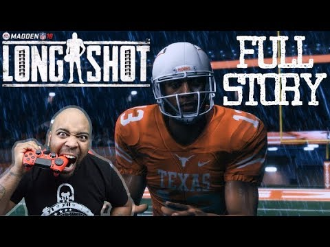 MADDEN 18 LONGSHOT FULL STORY STREAM GAMEPLAY WALKTHROUGH! WIN A FREE COPY OF MADDEN NFL 18 GIVEAWAY