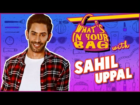 SAHIL UPPAL aka Kunal | What's in your Bag| Ek Shringaar Swabhimaan |