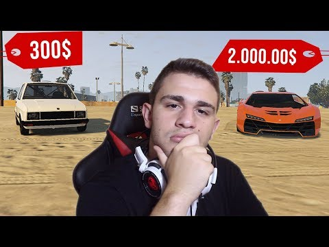 GTA 5 TEST: YUGO VS LAMBORGHINI
