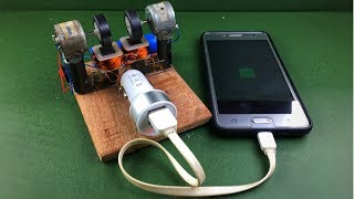 Wow! Free Energy Electric Generator - 100% Mobile Charging Self Running Machine