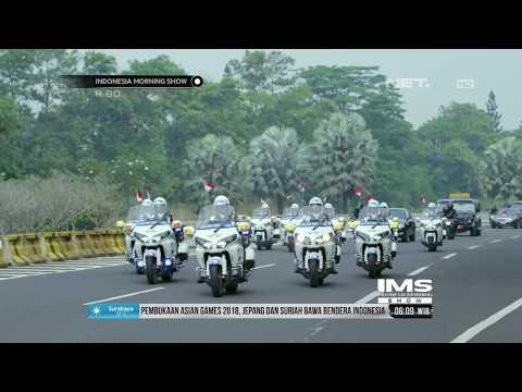 Presiden Jokowi Melakukan Free Style Di Opening Ceremony Asian Games 2018