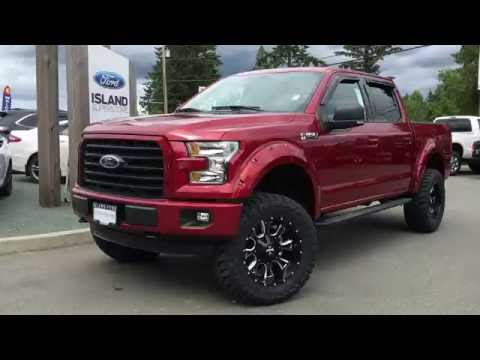 lifted 2016 ford f 150 xlt fx4 sport supercrew 4x4 review island ford youtube. Black Bedroom Furniture Sets. Home Design Ideas