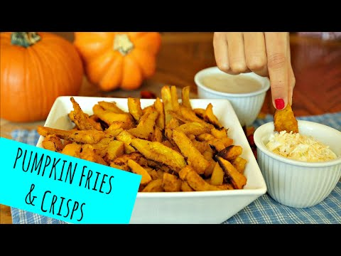 How to make Pumpkin Fries (and crisps!) La Cooquette -