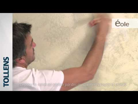 Tollens eole peinture d corative youtube for Peinture decorative