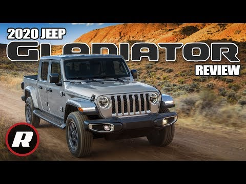 2020 Jeep Gladiator: More than a Wrangler with a pickup truck bed