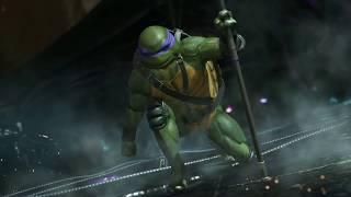 Injustice 2 Teenage Mutant Ninja Turtles Gameplay Trailer