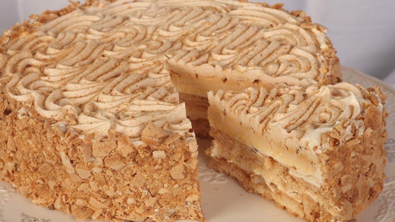 Домашний Киевский торт (рецепт киевского торта с фото ...