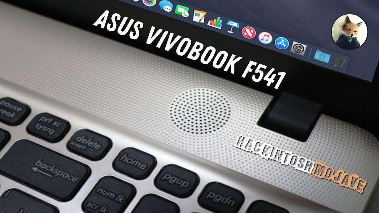 Asus F541 Hackintosh Mojave / Hight Sierra intel hd 530 - Как установить |  How to install