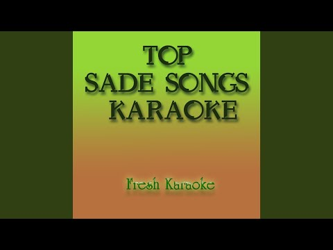 Kiss Of Life - Karaoke in the Style of Sade