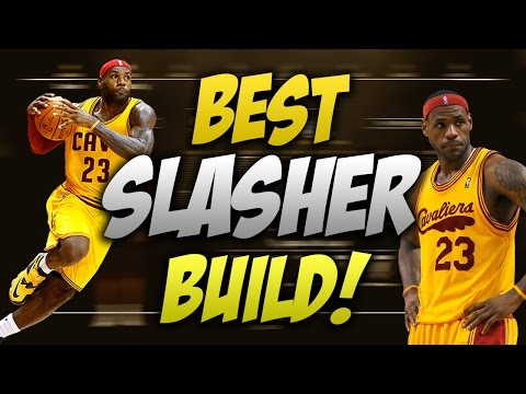 BEST SLASHER BUILD NBA 2K17! SMALL FORWARD SLASHER!