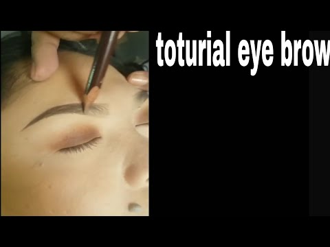 TUTORIAL EYE  BROW by mario tacubo vlog ng#5