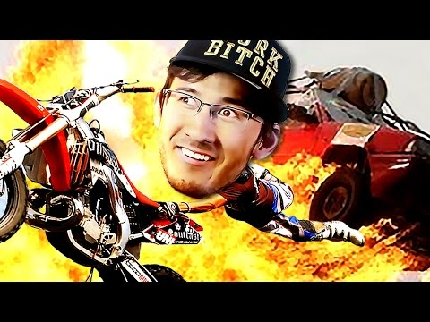 Motorcycles! Explosions! RAINING CARS!! | Road Redemption |