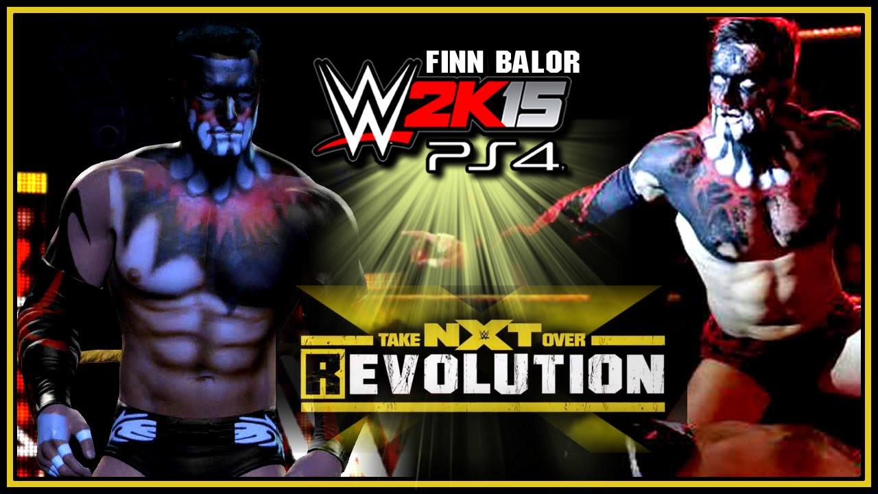 WWE 2K15 PS4 / XB1 : Finn Balor Entrance & Finisher (R-Evolution Facepaint)  - Community Creations
