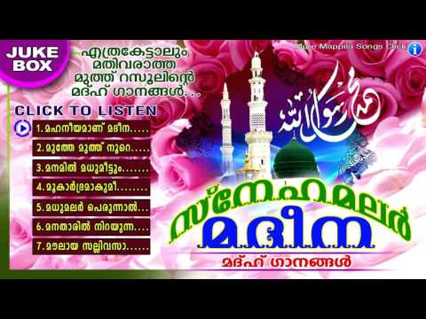 Snehamalar Madeena | സ്നേഹമലർ മദീന  | Islamic Devotional Songs | Madh Songs Malayalam