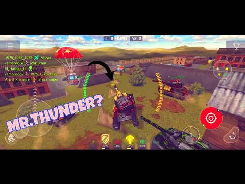 Mr Thunder Plays On Mobile?! ¬Goldbox Montage Tanki Online Mobile Танк онлайн