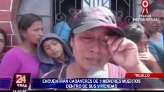 Trujillo: Encuentran cadáveres de tres menores de edad (2/2)