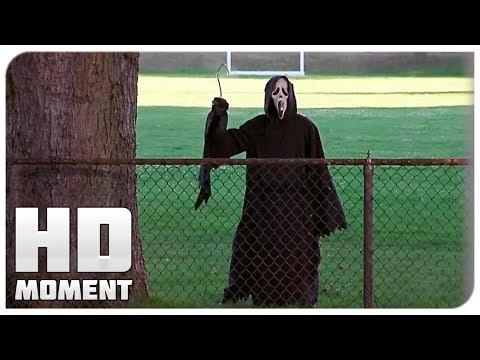 Маньяк подкинул записку Синди - Очень страшное кино (2000) - Момент из фильма