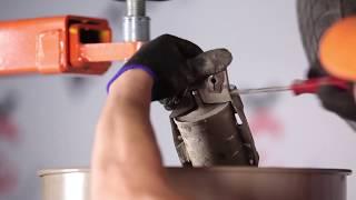 Разглобяване на дизел и бензин Горивен филтър онлайн инструкции