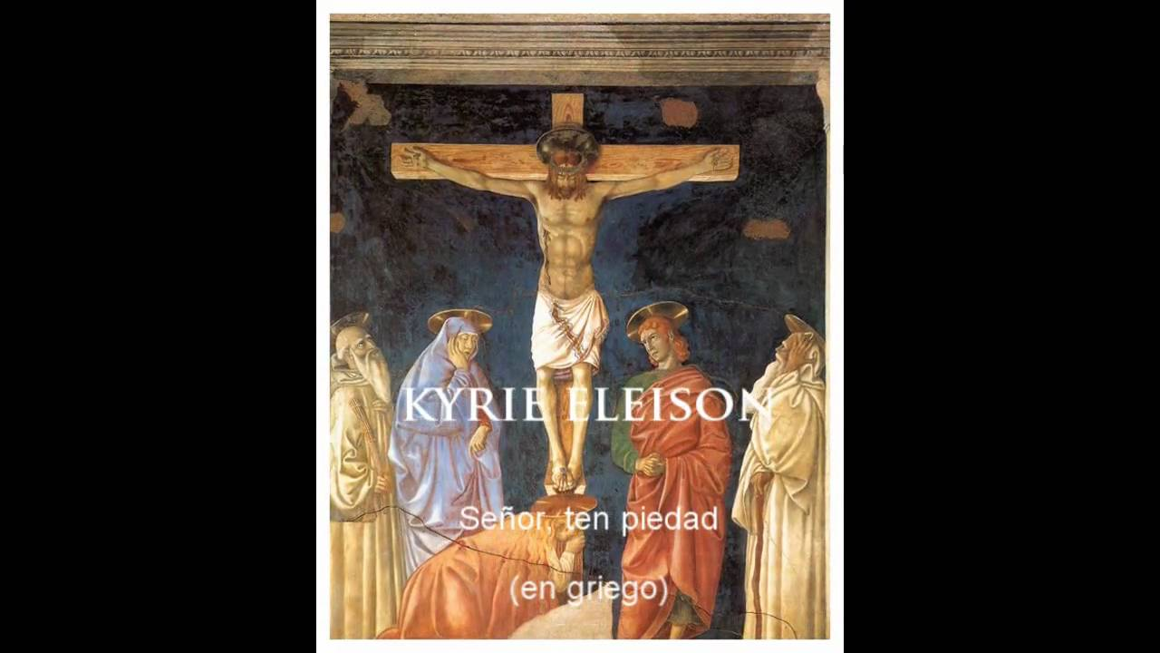 Kyrie eleison ♱ Lord have mercy
