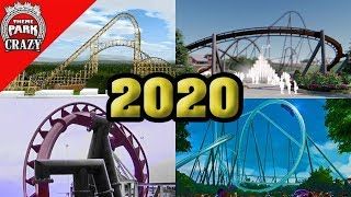 Most Anticipated 2020 Roller Coasters So Far