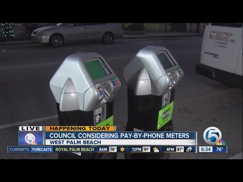 Palm Beach Town Council considers pay-by-phone meters