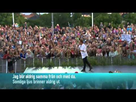 Oskar Linnros - Från och med du (Live @ Allsång på Skansen)