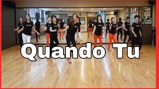 QUANDO TU (Jive) -Line Dance (Improver) 5.8