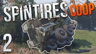 We Did It - Spintires Multiplayer - Volcano Complete - Part 2 - Coop Gameplay