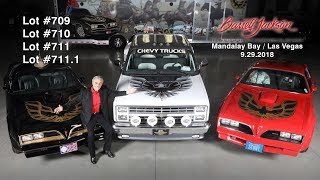 Burt Reynolds Personally Owned Cars at the Barrett Jackson Auction September 29