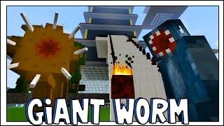 Minecraft - Crazy Craft 2.2 - GIANT WORM!! [80]