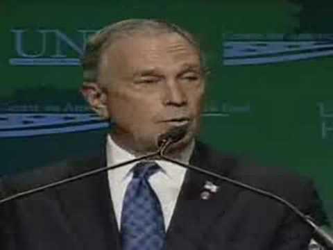 New York Mayor Bloomberg's Speech in Las Vegas