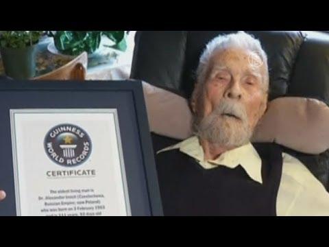 Самый старый мужчина планеты умер (новости)